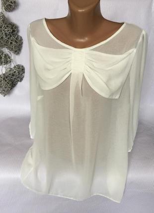 Шикарная воздушная блуза george1