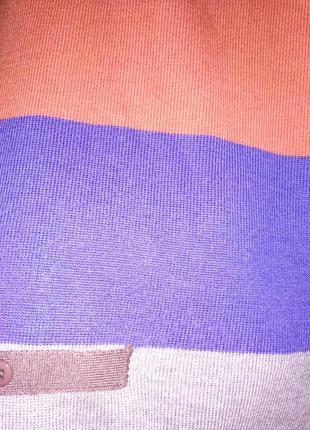 Яркое трикотажное мини платье 40рр5