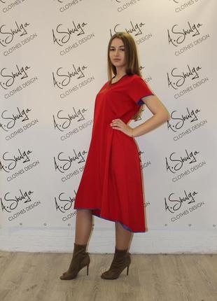 Свободное платье разлетайка от a.shulga2 фото