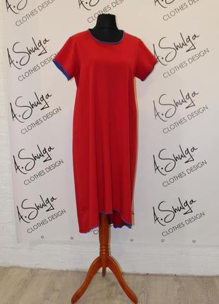 Свободное платье разлетайка от a.shulga3 фото