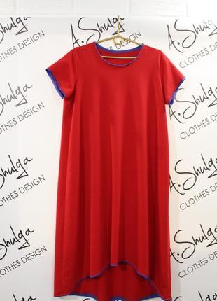 Свободное платье разлетайка от a.shulga4 фото