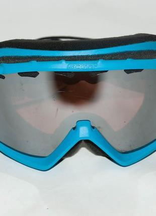 Швейцария маска горнолыжная  лыжная, лыжные очки scott