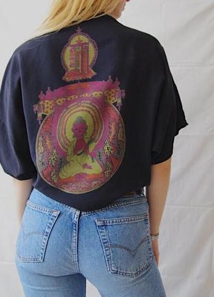 Блузка с буддой3 фото