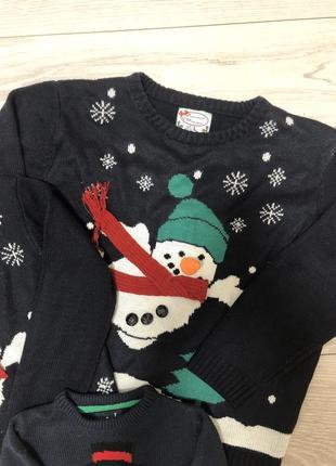 Продам новогодний family look, новогодние свитера5