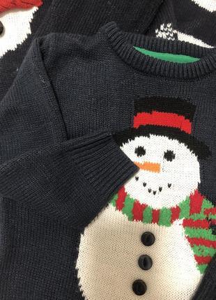 Продам новогодний family look, новогодние свитера2