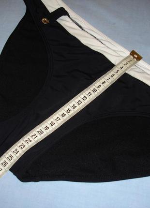 Низ от купальника раздельного трусики женские плавки размер 48 / 14 черные бикини2