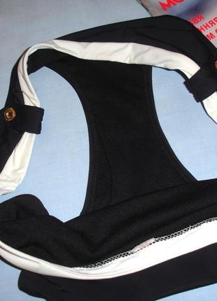 Низ от купальника раздельного трусики женские плавки размер 48 / 14 черные бикини4