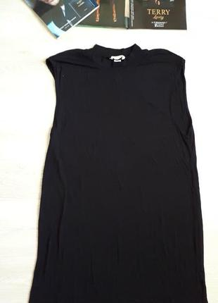 Базовое черное платье h&m /2я вещь в подарок2