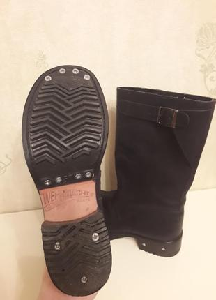 Werhmacht сапоги ботинки кожа1