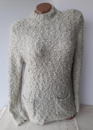 Тепленький свитерок с карманами...1