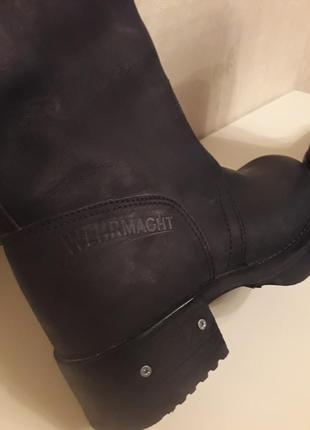 Werhmacht сапоги ботинки кожа2