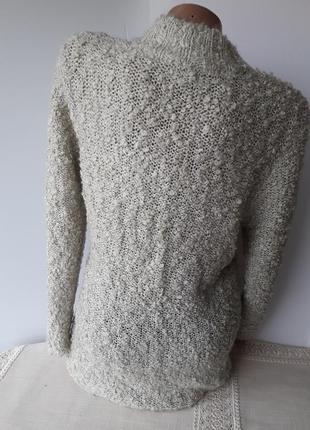 Тепленький свитерок с карманами...3