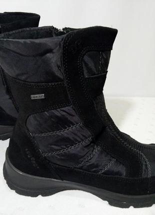 Зимние сапоги.ботинки legero, 39р,стелька25см. отличное состояние1 фото