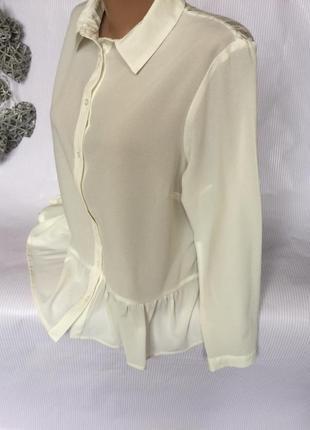 Белая блуза спинка ажур atmosphere2