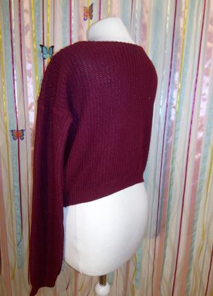 Очень теплый и стильный свитер2