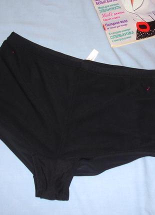 Низ от купальника раздельного трусики женские плавки размер 52 / 18 черные высокие розовые2
