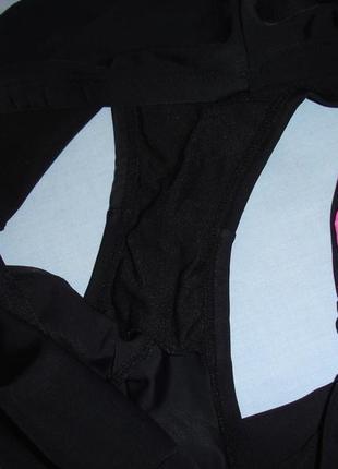 Низ от купальника раздельного трусики женские плавки размер 52 / 18 черные высокие розовые3