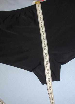 Низ от купальника раздельного трусики женские плавки размер 52 / 18 черные высокие розовые5