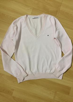 Свитер пуловер tommy hilfiger оригинал