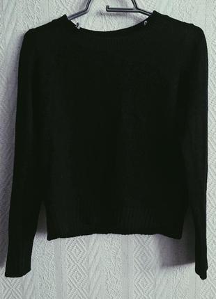 Чёрный свитер размер xs/s/m2 фото