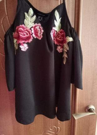 Блуза с вышивкой5