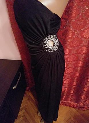 Готовимся к праздникам!) шикарное вечернее платье макси с блёстками от new look2