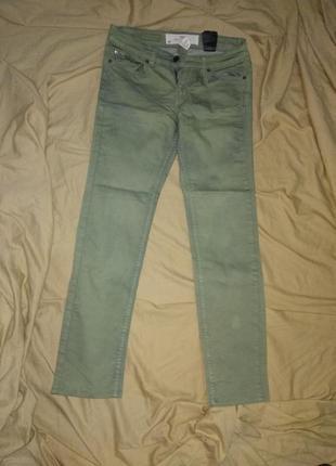 Коттоновые джинсы брюки2 фото