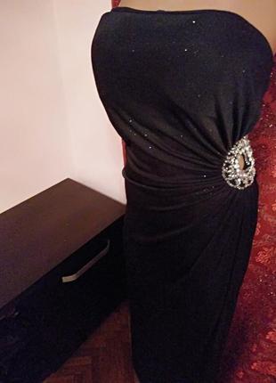 Готовимся к праздникам!) шикарное вечернее платье макси с блёстками от new look1