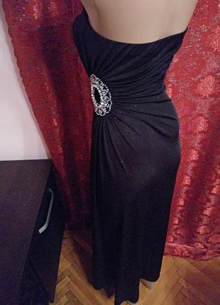 Готовимся к праздникам!) шикарное вечернее платье макси с блёстками от new look3