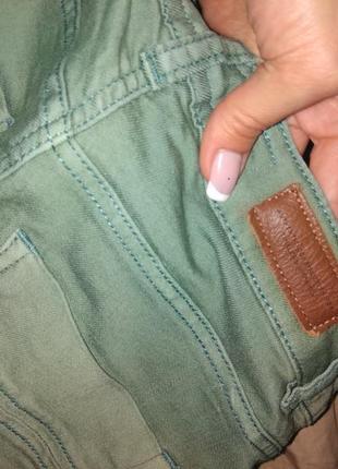 Коттоновые джинсы брюки4 фото