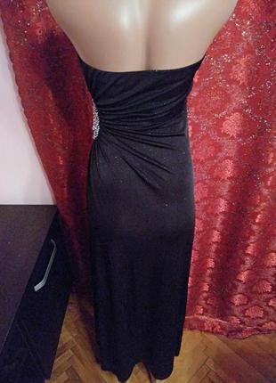 Готовимся к праздникам!) шикарное вечернее платье макси с блёстками от new look5