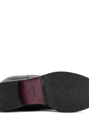 982цп женские сапоги marko rossi,кожаные,на толстом каблуке,на каблуке,на низком ходу4