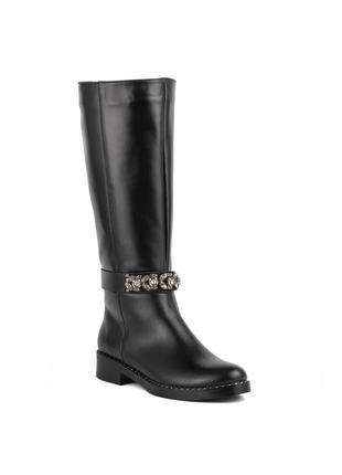 982цп женские сапоги marko rossi,кожаные,на толстом каблуке,на каблуке,на низком ходу1