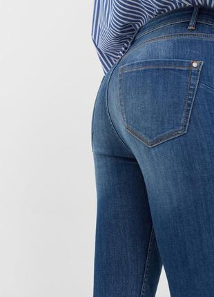 Шикарные джинсы с высокой посадкой от mango, 36, 38р, испания2 фото