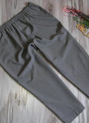 Легкие брючки чинос ( сзади пояс резинка) размер eur 48-504
