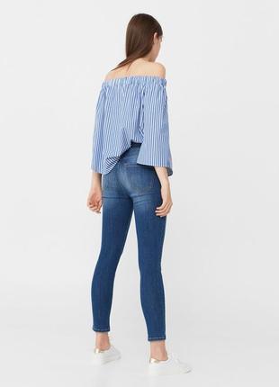 Шикарные джинсы с высокой посадкой от mango, 36, 38р, испания3 фото
