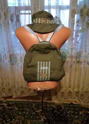 Летний комплект для мальчика рюкзак и панама