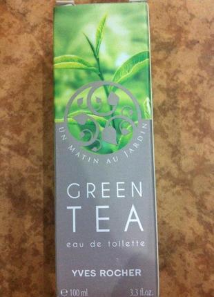 Французька туалетна вода зелений чай1