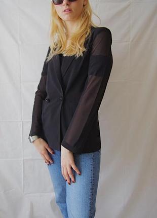 Полупрозрачный пиджак3