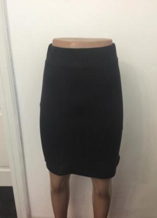 Миди юбка  темно-серая фирми vila