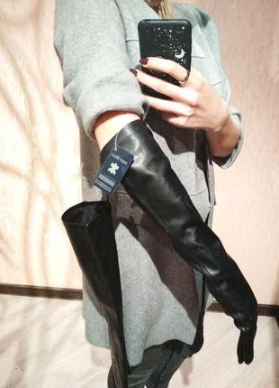 Перчатки из натуральной кожи3 фото