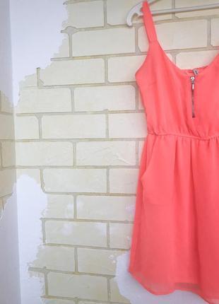 Яркое летнее платье1