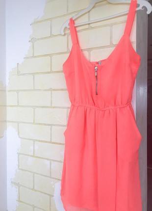 Яркое летнее платье2