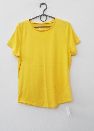 Спортивная трикотажная футболка 50% хлопковая1