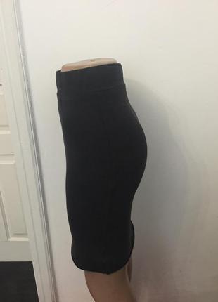 Миди юбка  темно-серая фирми vila3