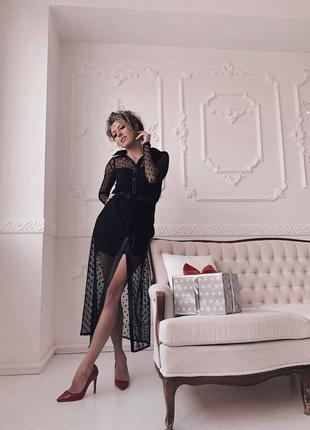 Платье горох1