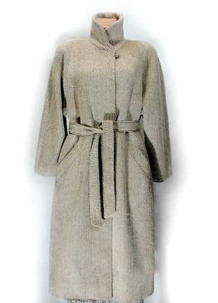 👉идеальное пальто hucke шерсть&мохер👍1