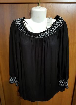 Новая!!! с биркой!!! вискозная блузка размера 54-561