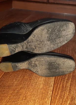 Натуральные зимние сапоги, кожаные на цегейке ст.25,5 см4