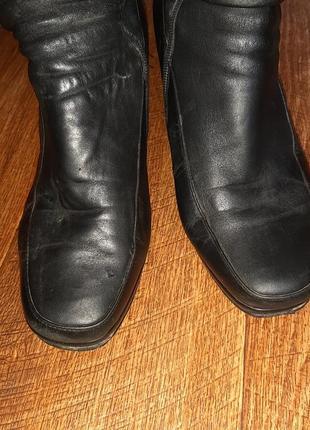 Натуральные зимние сапоги, кожаные на цегейке ст.25,5 см2